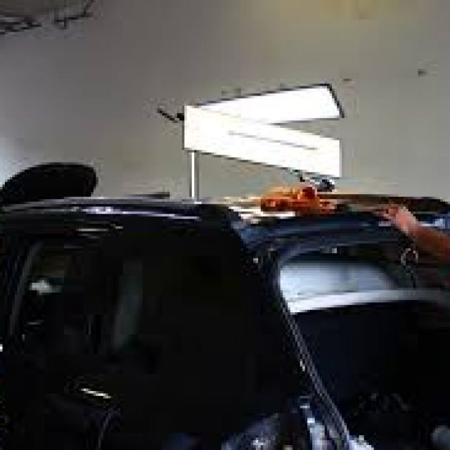 Using a hairdryer and carbon dioxide liquid to remove dents on a car